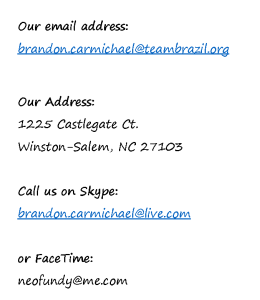 Our email address